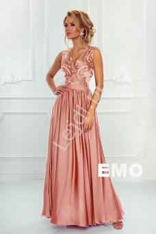 ab26d5a50a Pastelowo żółta suknia na jedno ramię na studniówkę wesele