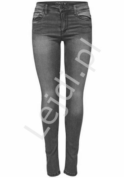 Grafitowe jeansy ONLY - Lejdi