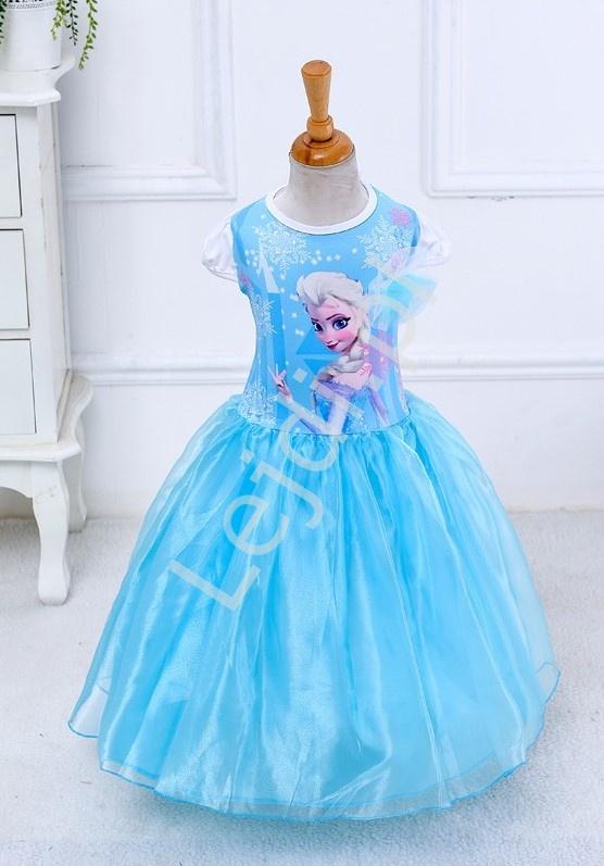 Karnawałowa sukienka dla dziewczynki FROZEN - Lejdi