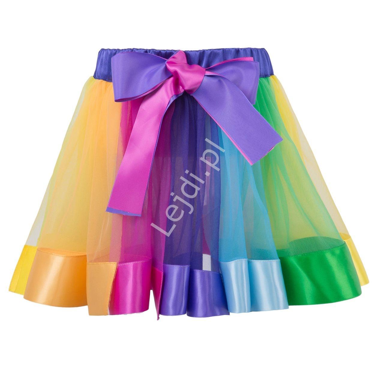 Kolorowa halka dziecięca, spódnica tutu skirt | spódniczka, halka dla dziewczynki - Lejdi