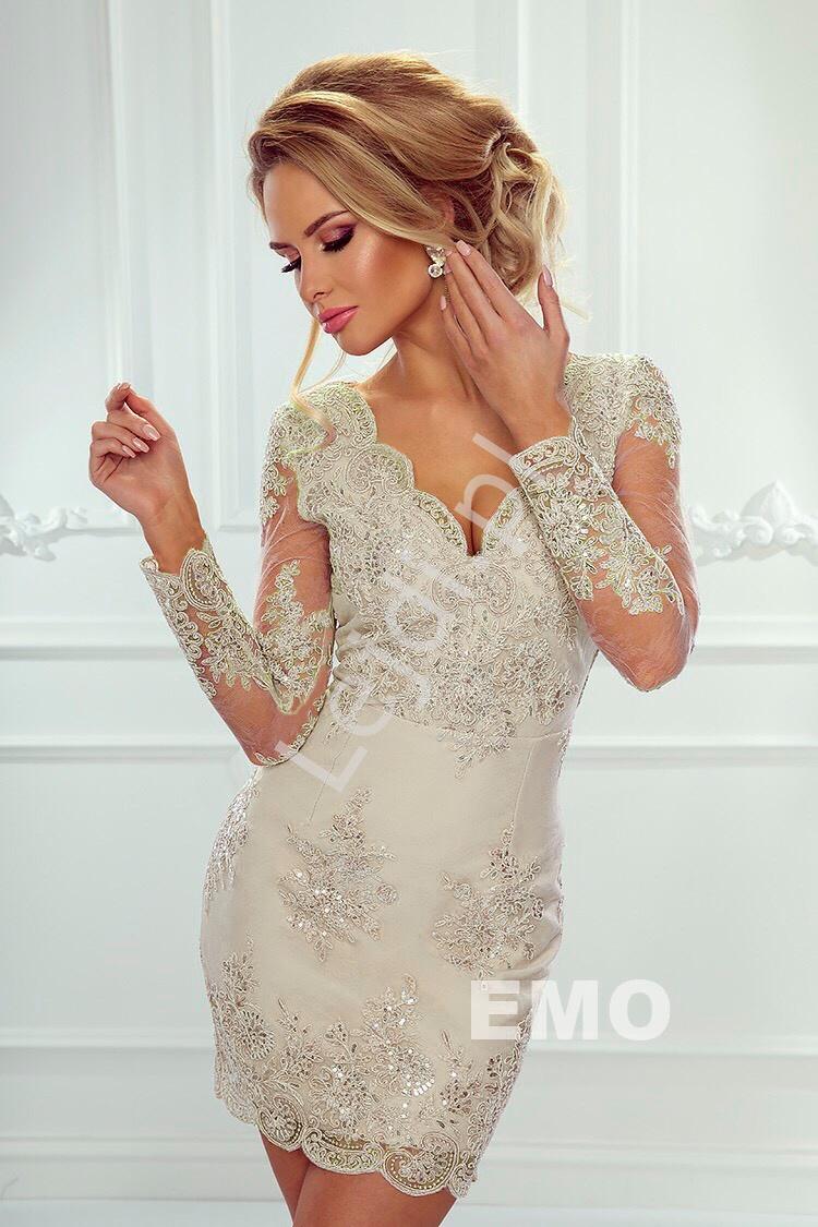5861138a04 Koronkowa sukienka na wesele