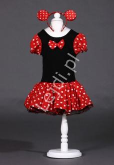 Kostium karnawałowy dla dziewczynki - Myszka Minnie