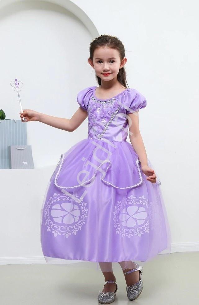 Księżniczka Zosia sukienka dla dziewczynki - Lejdi