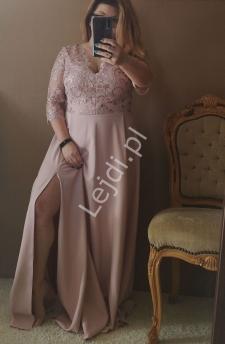 88c20995c1 Modna sukienka plus size na wesele
