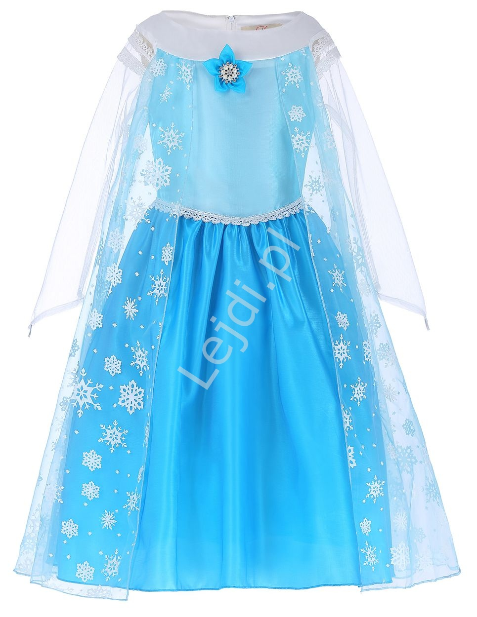 Sukienka dla dziewczynki | strój karnawałowy FROZEN - Lejdi