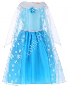 Sukienka frozen - kostium na bal w przedszkolu