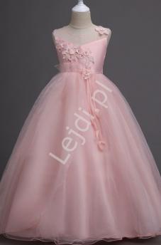 Długie sukienki dla dziewczynek