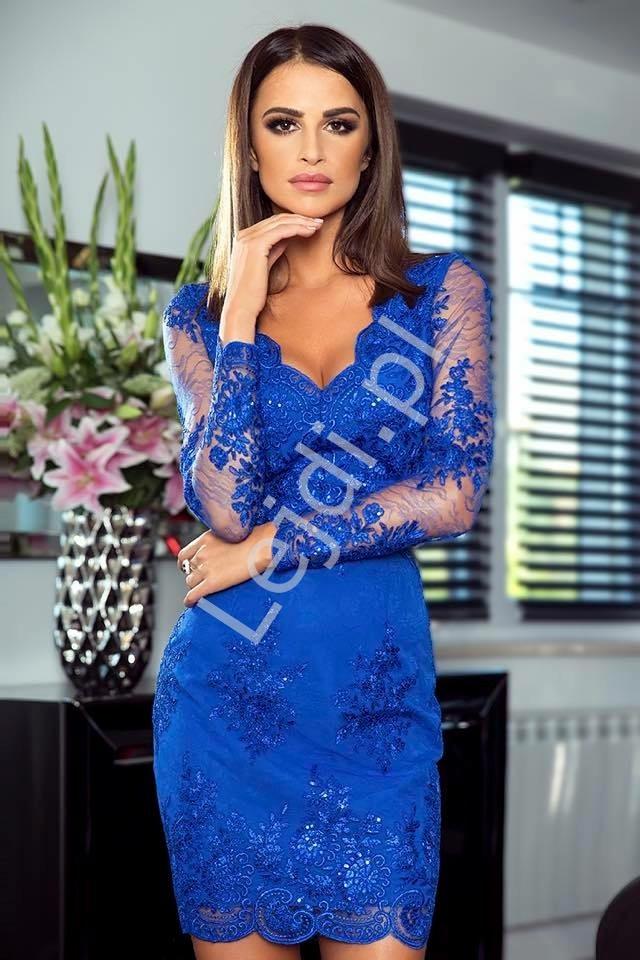 79638d4e5880ca Sukienka na wesele chabrowa, obcisła koronkowa wieczorowa Diana ...