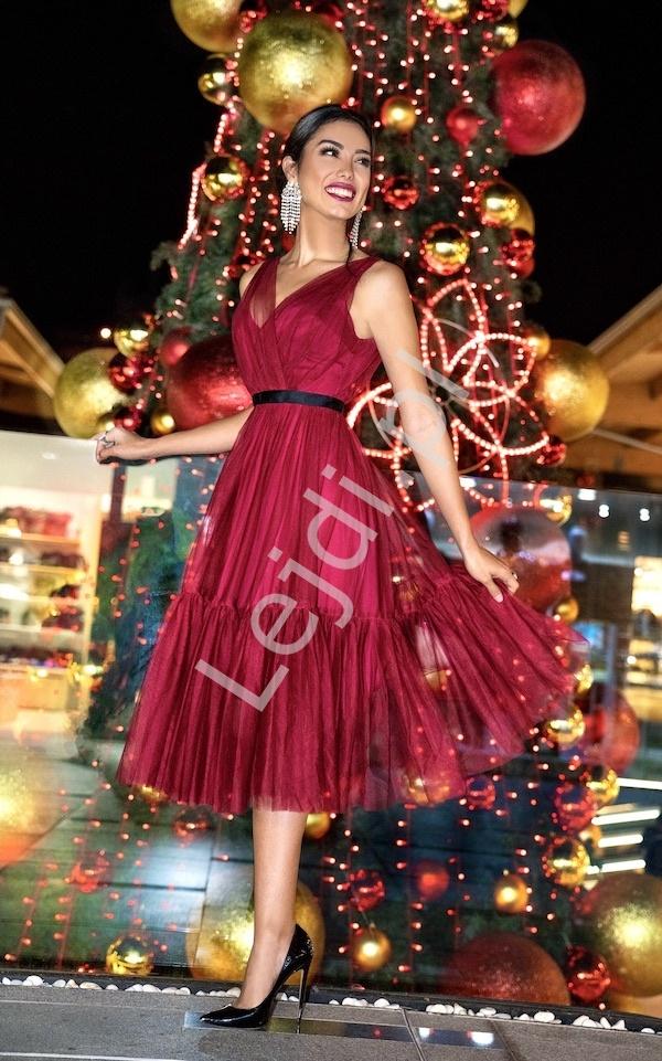 Sukienka Paris-nude NUDE | Odzież / Sukienki