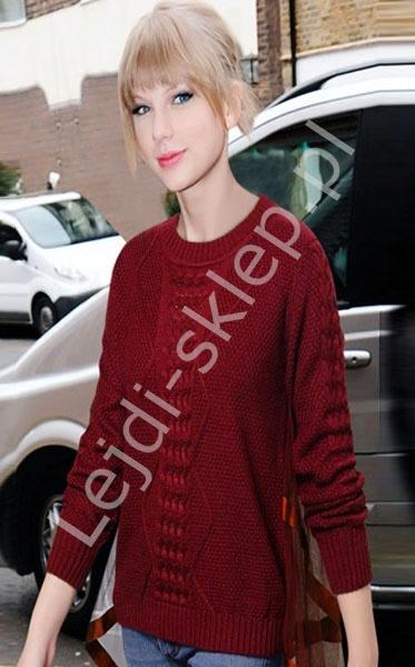 Sweter z tiulową pelerynką w stylu Taylor Swift - Lejdi