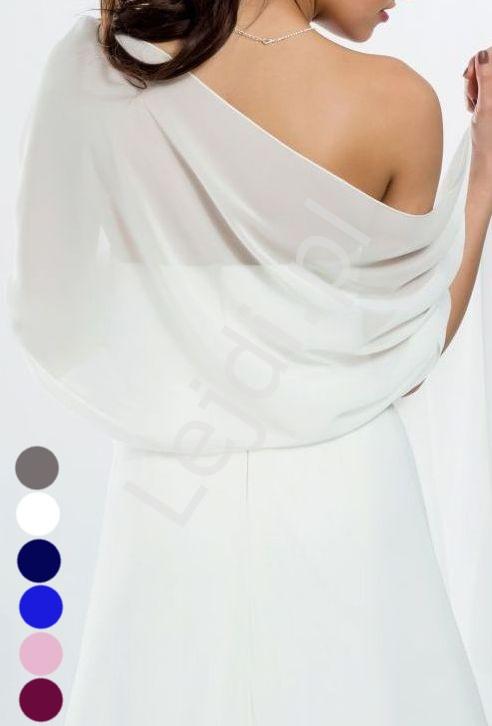 035b82a95afb6e Szal z szyfonu, idealny do sukien wieczorowych - szal szyfonowy 6 kolorów