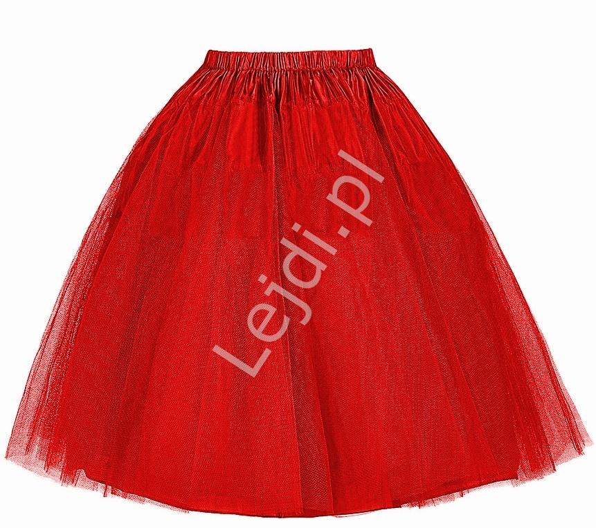 2c43299c Tiulowa czerwona sztywna halka pod sukienkę   czerwone halki do ...