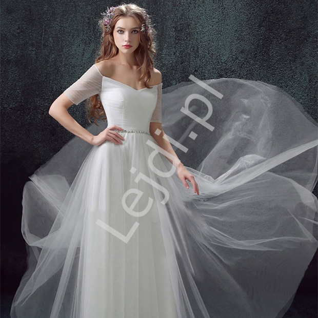 8d91d179d1 Suknia ślubna hiszpanka