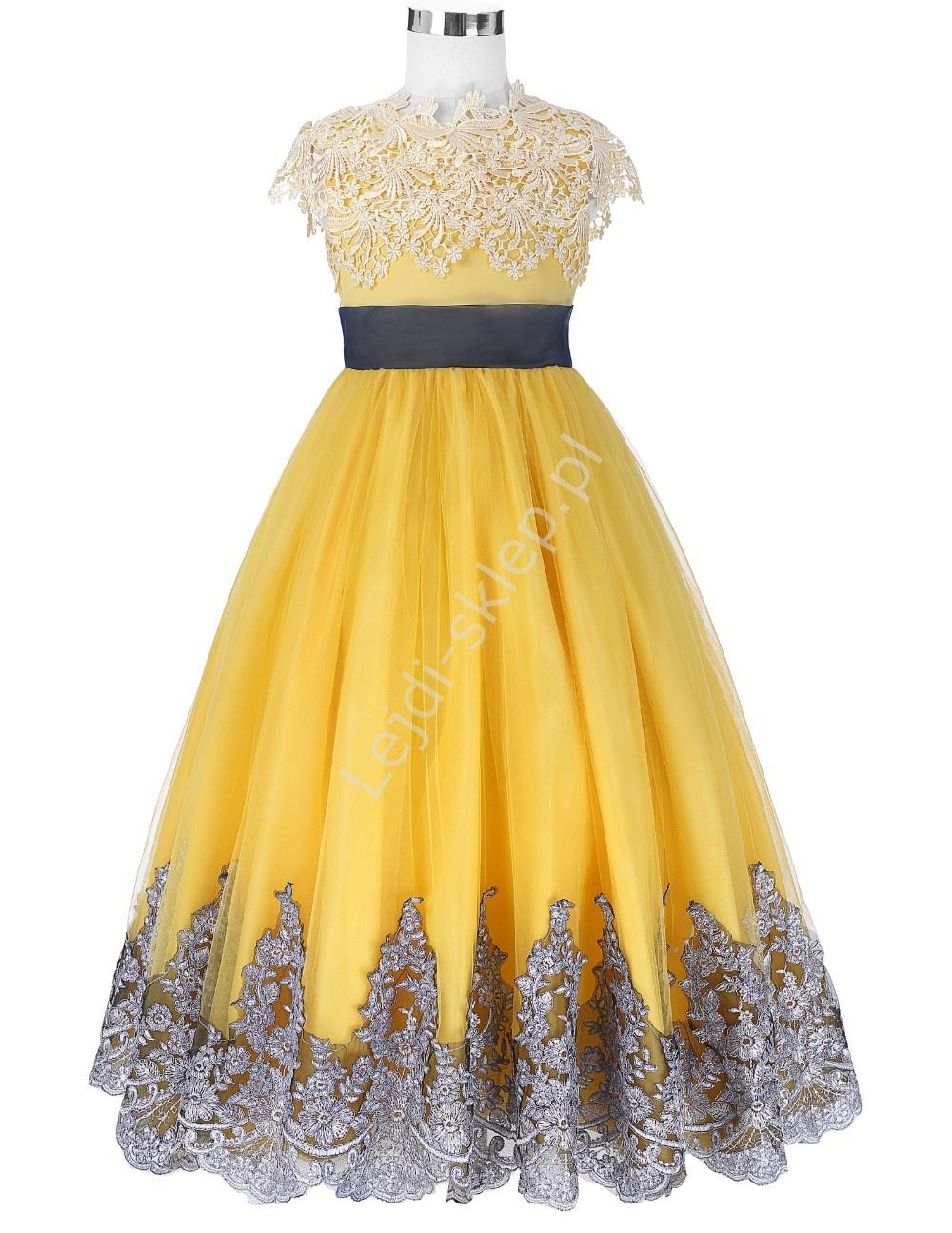Wyj Tkowa Sukienka Dziewcz Ca Eleganckie Sukienki Dla Dziewczynek