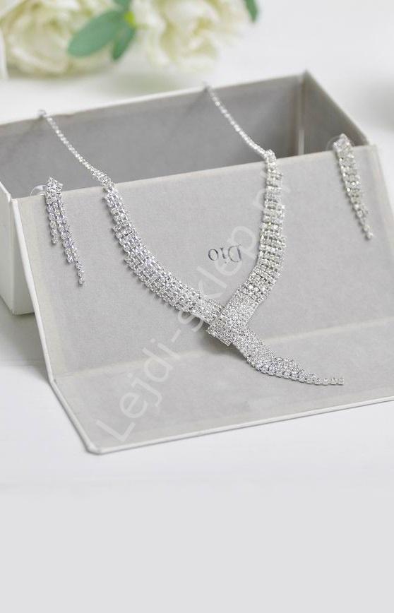 Biżuternia ślubna  -naszyjnik