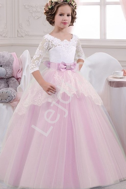 Zjawiskowa sukienka balowa dla dziewczynki 203 - Lejdi