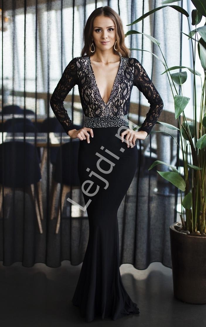 b29e0f2ac9 Granatowa suknia na studniówkę Sukienka na studniówkę