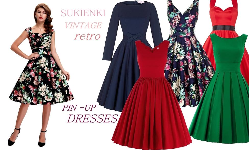 7ea9ad2f39 ... Sukienki retro - lejdi.pl ...